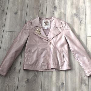 Route 66 Girl Light Pink Jacket Size XL (14/16)